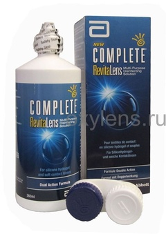 В ПОДАРОК предлагаем COMPLETE RevitaLens 60 мл при покупки такого же раствора объемом 360 мл